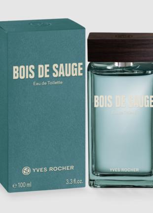 """Мужская  туалетная вода yves rocher  """"bois de sauge""""  (буа де сож)"""