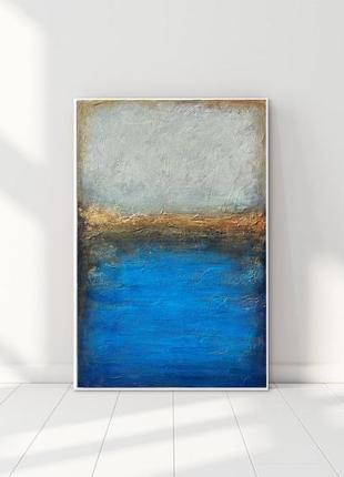 Картина для интерьера «море». живопись