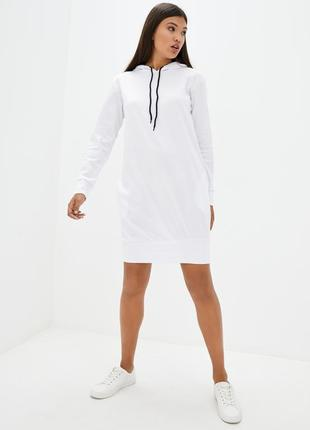 Жіноче спортивне плаття міді з капішоном eare 27906
