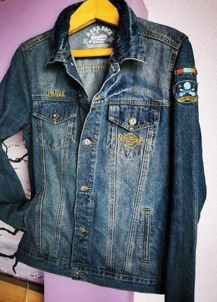 Джинсовая куртка hard rock
