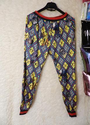 ✅ классные летние трикотажные штаны в модный принт