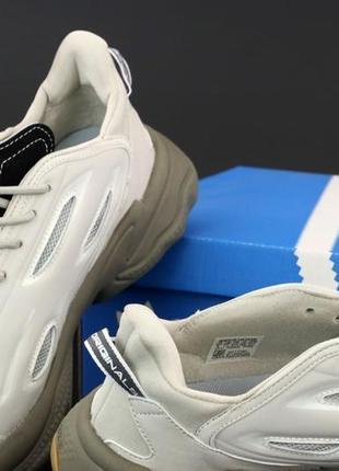 Легкие мужские спортивные кроссовки кеды adidas ozweego6 фото