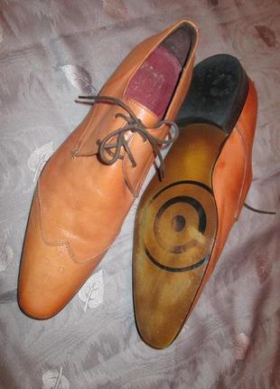 Кожаные туфли ravel
