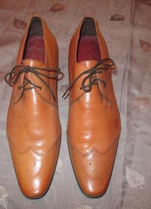 Кожаные туфли ravel3 фото