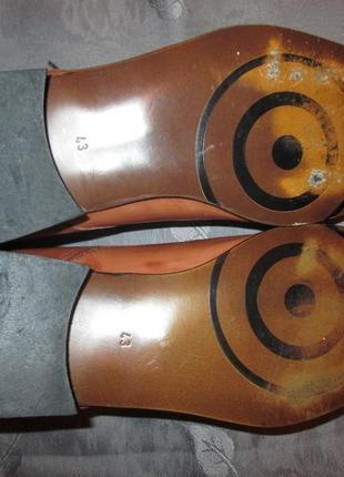 Кожаные туфли ravel4 фото
