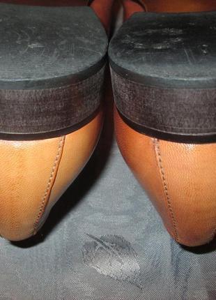 Кожаные туфли ravel5 фото