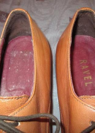 Кожаные туфли ravel6 фото