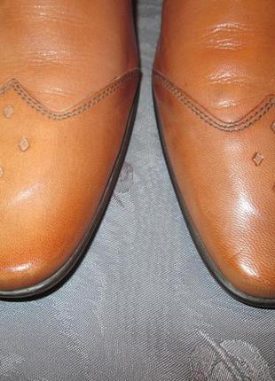Кожаные туфли ravel7 фото