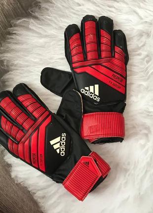 Вратарские перчатки adidas predator f5 junior