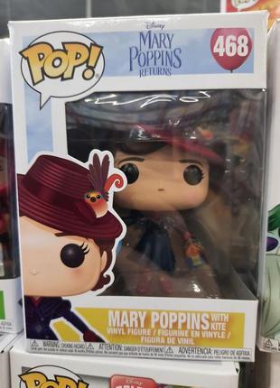Фанко поп мэри поппинс с воздушным змеем funko pop disney mary poppins mary 468 игрушка