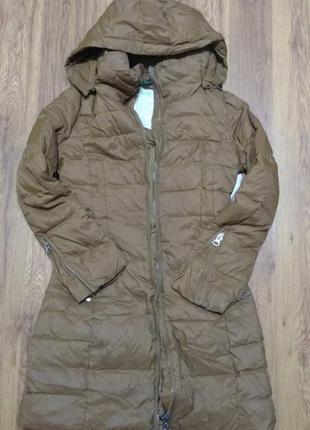Пуховое пальто beneton