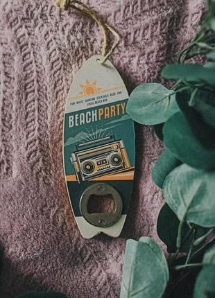 Оригинальная открывашка для пива - доска для серфинга можно на подарок