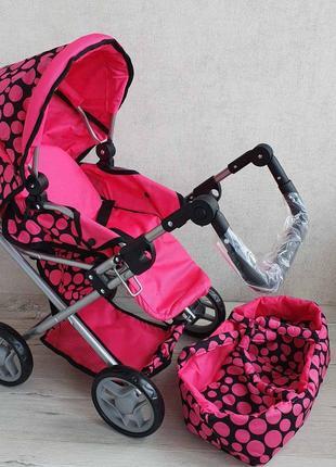 Каляска з переноскою, коляска, візок для ляльки, коляска для куклы