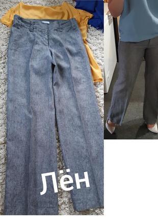 Актуальные на лето классические льняные брюки,  yessica,  p.38