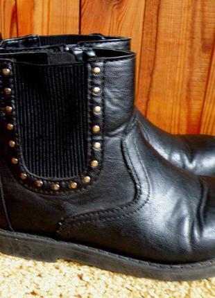 Демисезонные ботинки h&m. 12uk