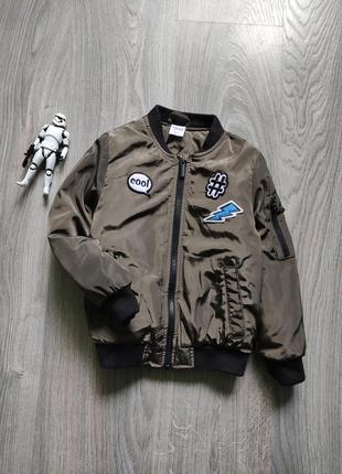 3-4г куртка бомбер ветровка