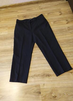 Натуральные теплые брюки, классика, шерсть, стрелки, офис, peter hahn