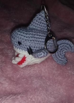 Брелок іграшка акула ручна робота