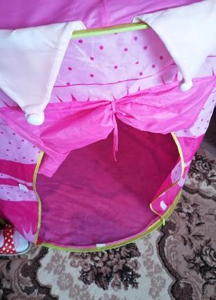 Палатка для девочки.