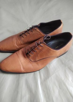 Офигенные туфли кожаные