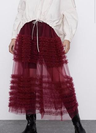 Юбка юбка-пачка пачка юбка из фатина юбка из сетки