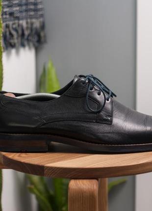 Дерби lloyd, германия 47р мужские кожаные туфли4 фото