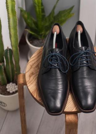 Дерби lloyd, германия 47р мужские кожаные туфли2 фото