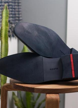 Дерби lloyd, германия 47р мужские кожаные туфли7 фото