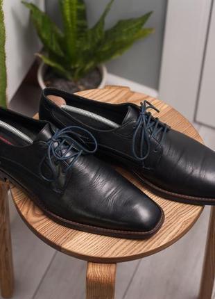 Дерби lloyd, германия 47р мужские кожаные туфли3 фото