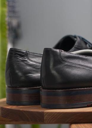 Дерби lloyd, германия 47р мужские кожаные туфли5 фото