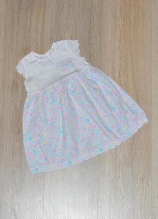 Летнее платье george 12-18 мес. сарафан плаття сукня