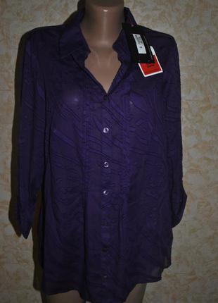 Хлопковая блуза от marks spencer