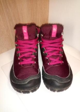 Термо-ботинки водонепроницаемый quechua