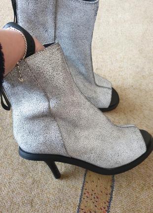 Туфли ботинки открытые &other stories