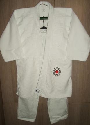 Подростковое кимоно жесткое дзюдо размер 160