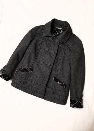 Пальто promod шерстяное шерсть