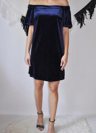 Вельветовое платье atmosphere