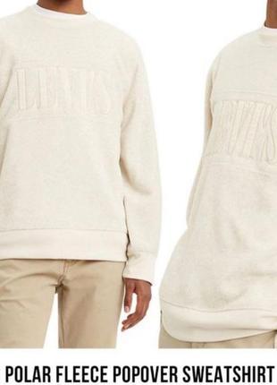 Levi's polar fleece popover sweatshirt