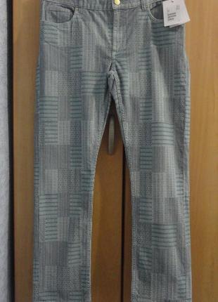Супер брендовые брюки джинсы хлопок