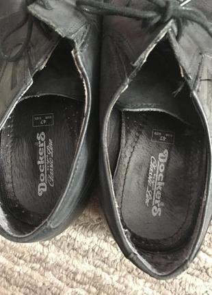Кожаные туфли на шнурках6 фото