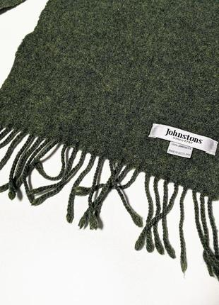 Johnstons of elgin английский шарф премиум бренда3 фото