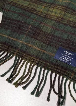 Johnstons of elgin #1 шарф английский премиум бренд2 фото