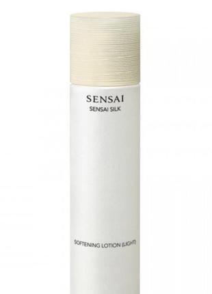 Увлажняющий смягчающий лосьон kanebo sensai silk softening lotion (light)