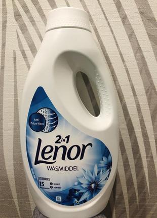 Гель для прання «lenor»