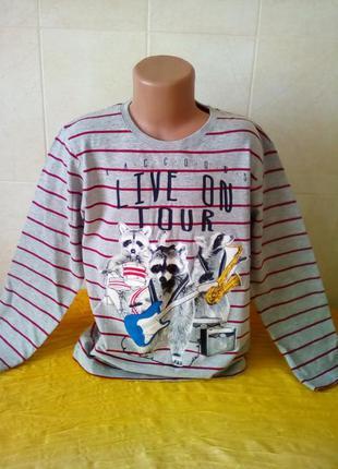 Лонгслив-футболка 140р.