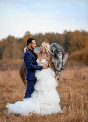 Сказочное свадебное платье!