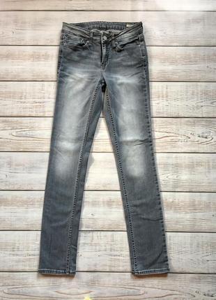 Джинсы штаны фирменные узкие скинни