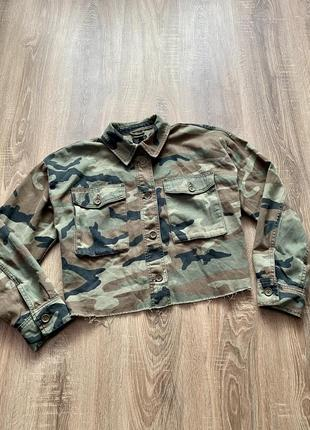 Вкорочена куртка - жакет оверсайз