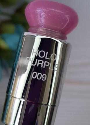 Бальзам для губ dior addict lip glow color reviving lip balm 009 holo purple тестер8 фото