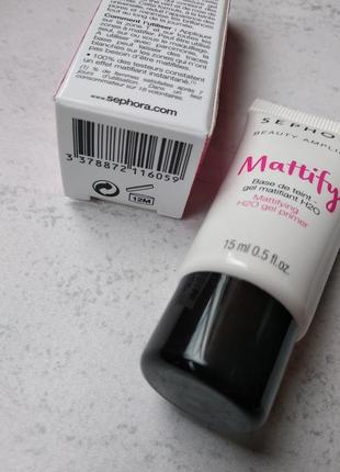 База / праймер для обличчя sephora mattifying h20 gel primer2 фото
